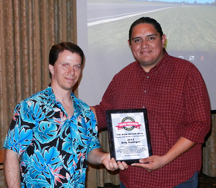 Arty Gallegos, Member of the Year