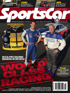 SportsCar, the SCCA official monthly national magazine